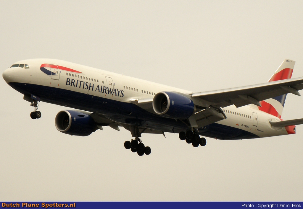 G-YMMU Boeing 777-200 British Airways by Daniel Blok