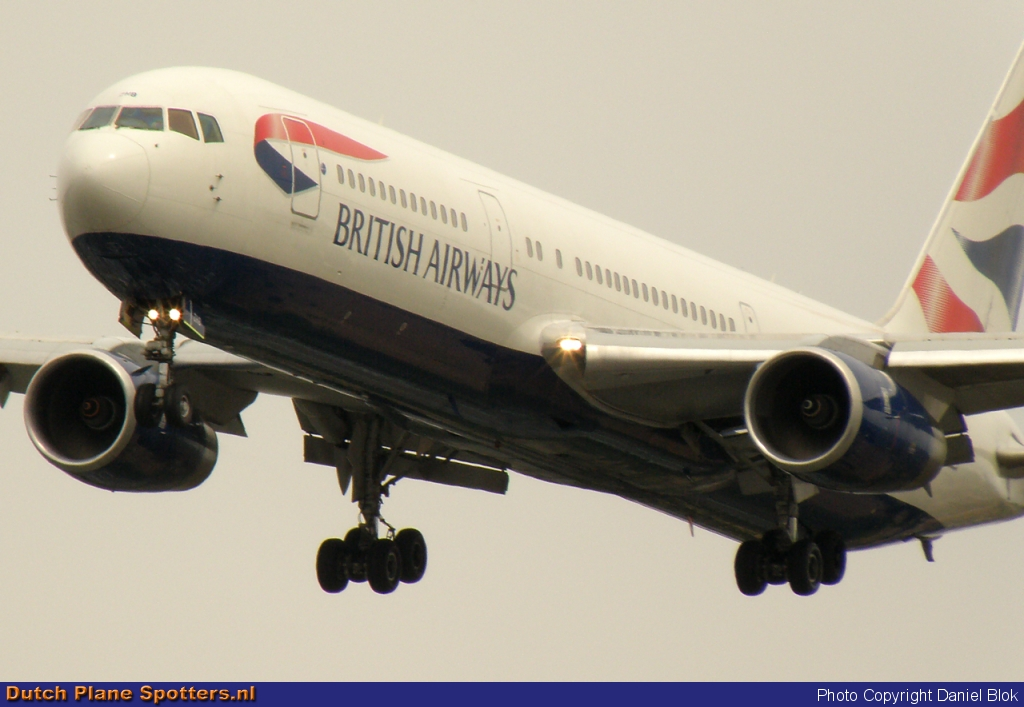 G-BZHB Boeing 767-300 British Airways by Daniel Blok