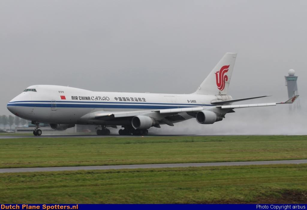 B-2409 Boeing 747-400 Air China Cargo by airbus