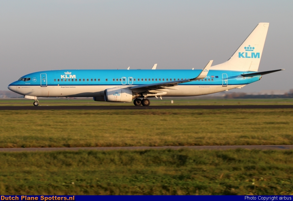PH-BXG Boeing 737-800 KLM Royal Dutch Airlines by airbus