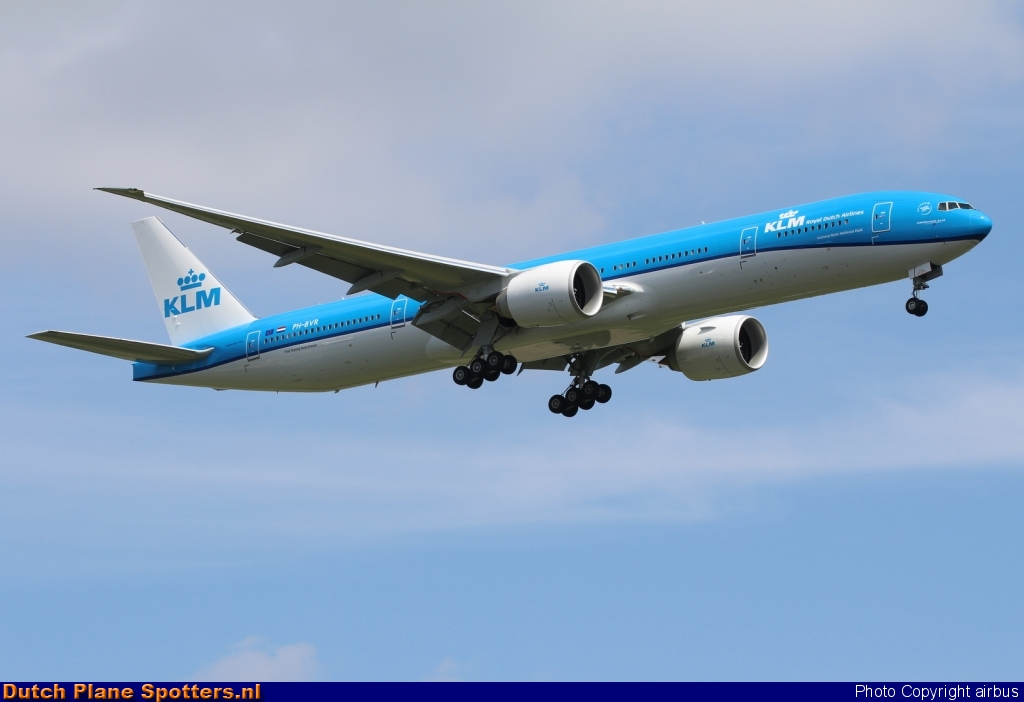 PH-BVR Boeing 777-300 KLM Royal Dutch Airlines by airbus