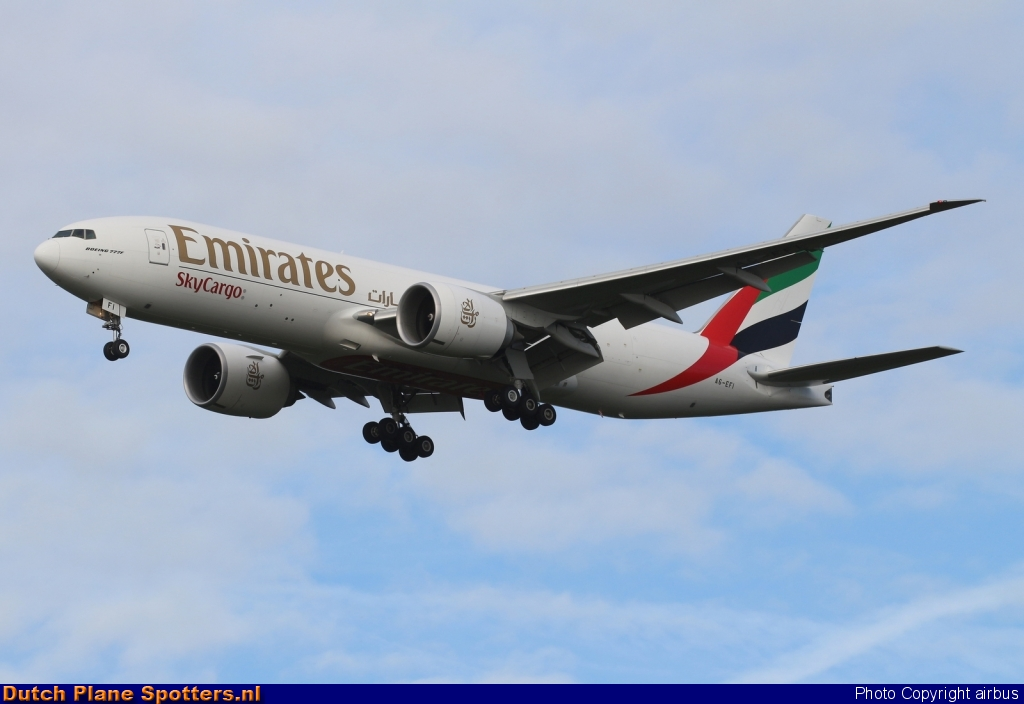 A6-EFI Boeing 777-F Emirates Sky Cargo by airbus