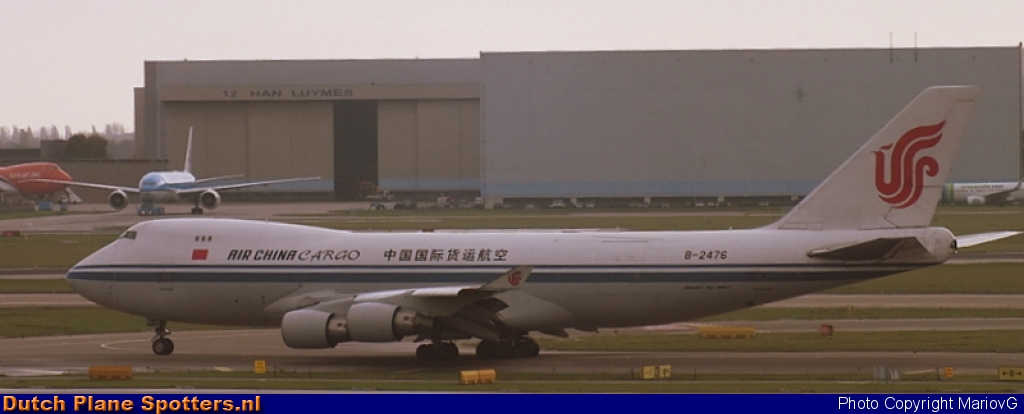 B-2476 Boeing 747-400 Air China Cargo by MariovG