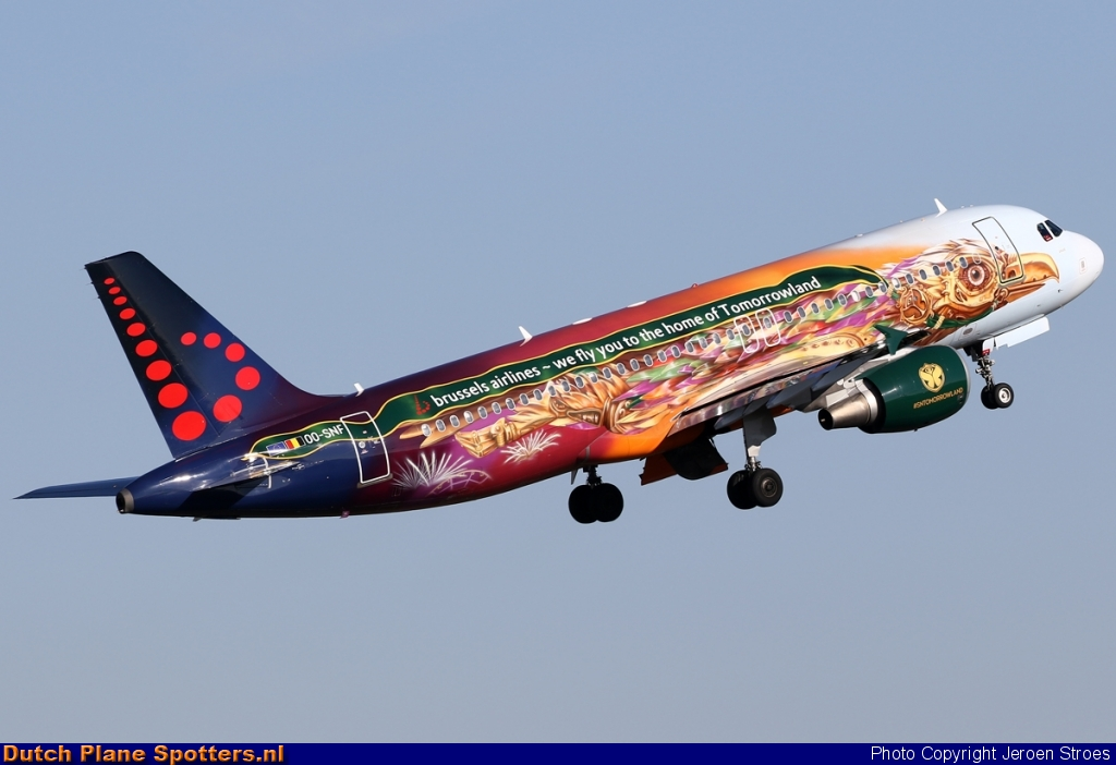 OO-SNF Airbus A320 Brussels Airlines by Jeroen Stroes
