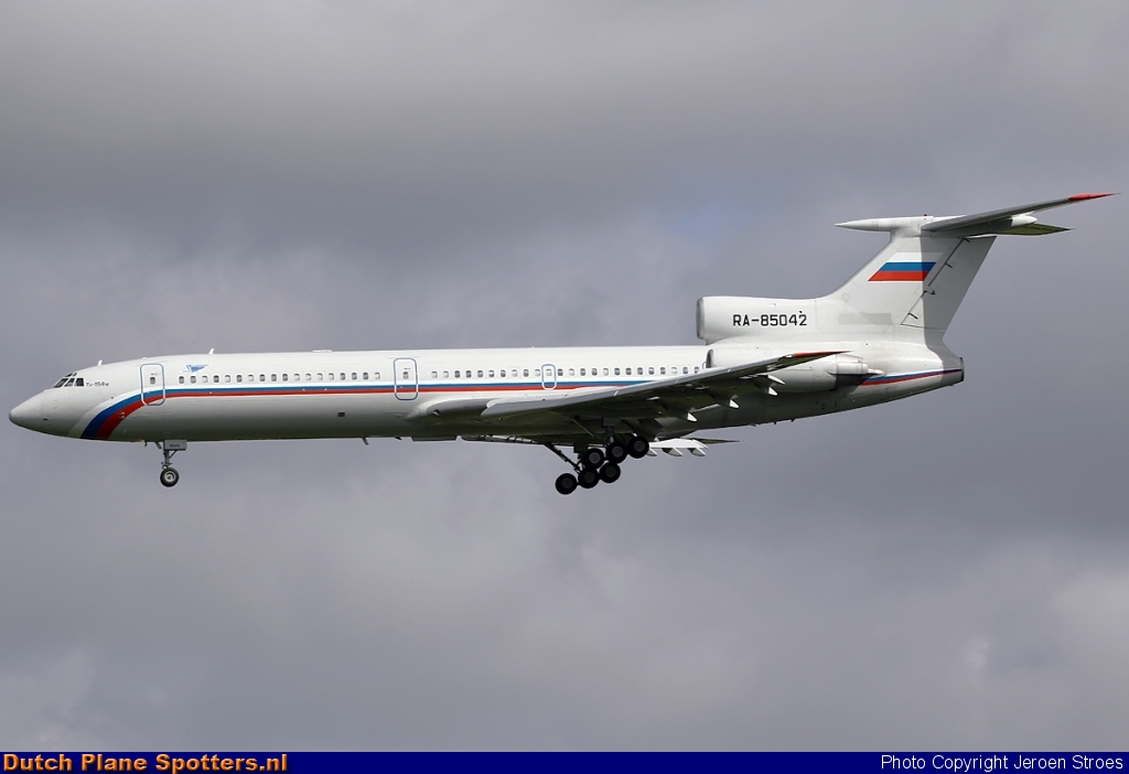RA-85042 Tupolev Tu-154 MIL - Russian Air Force by Jeroen Stroes
