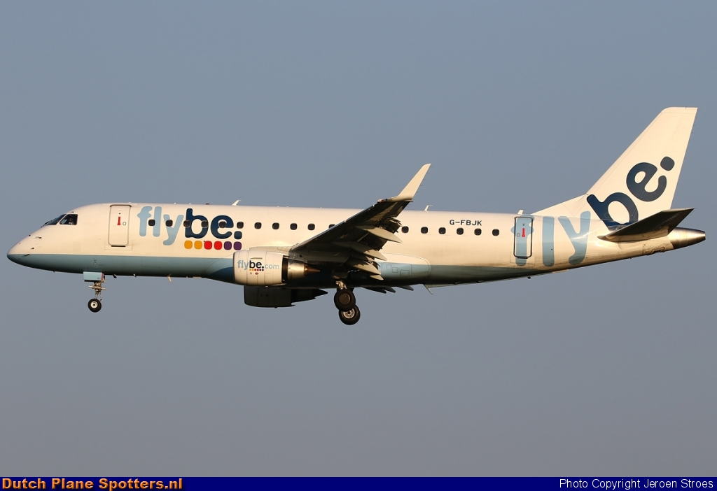 G-FBJK Embraer 175 Flybe by Jeroen Stroes