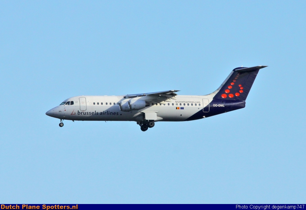 OO-DWL BAe 146 Brussels Airlines by Herman Degenkamp