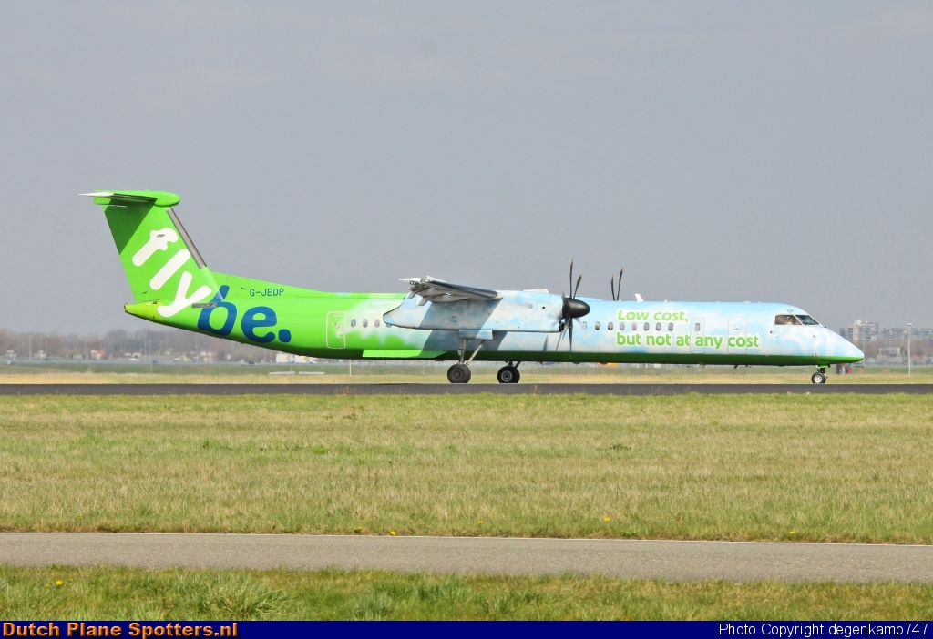 G-JEDP Bombardier Dash 8-Q400 Flybe by Herman Degenkamp