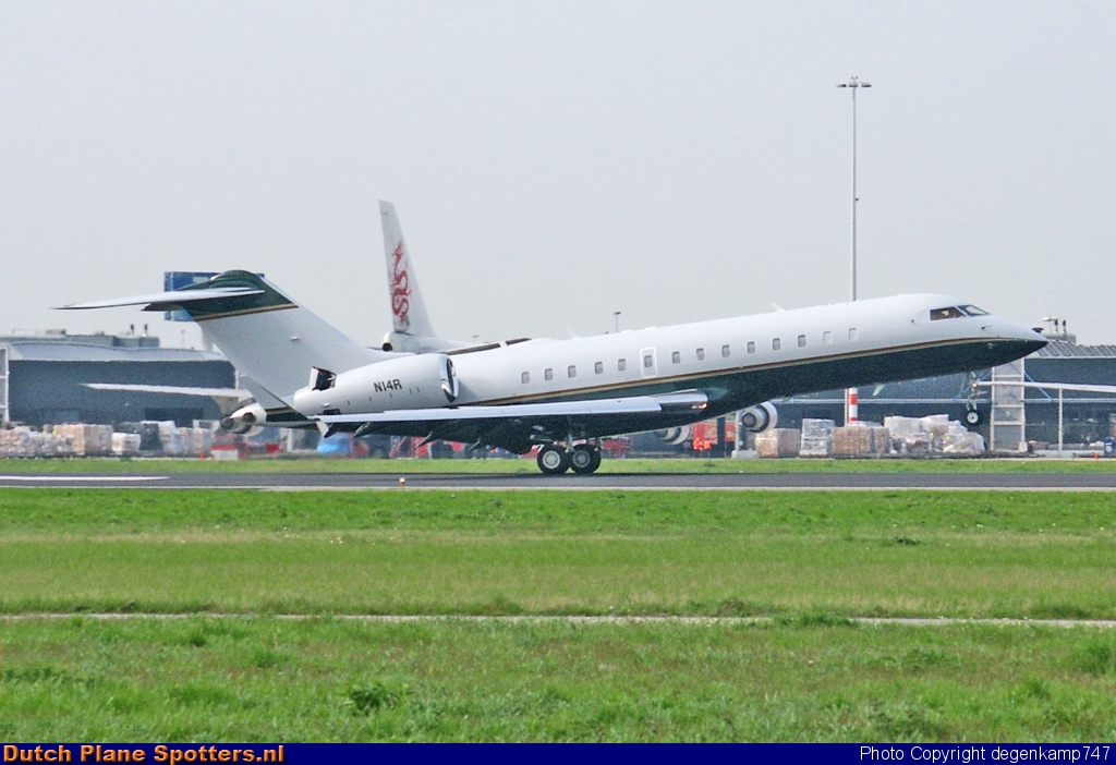 N14R Bombardier BD-700 Global Express Private by Herman Degenkamp