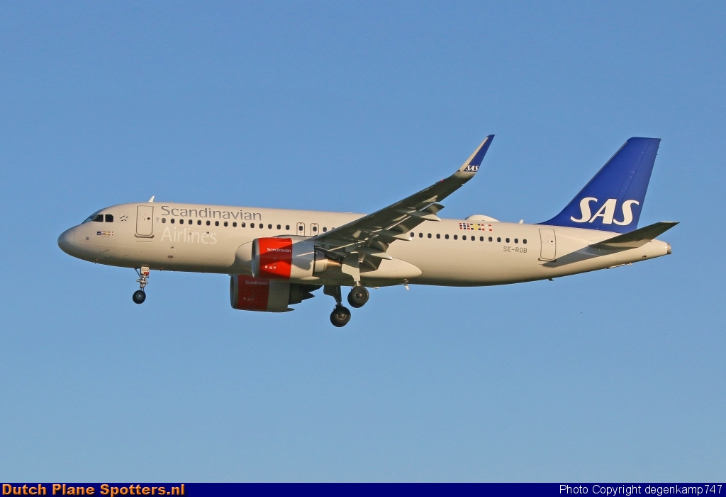 SE-ROB Airbus A320neo SAS Scandinavian Airlines by Herman Degenkamp