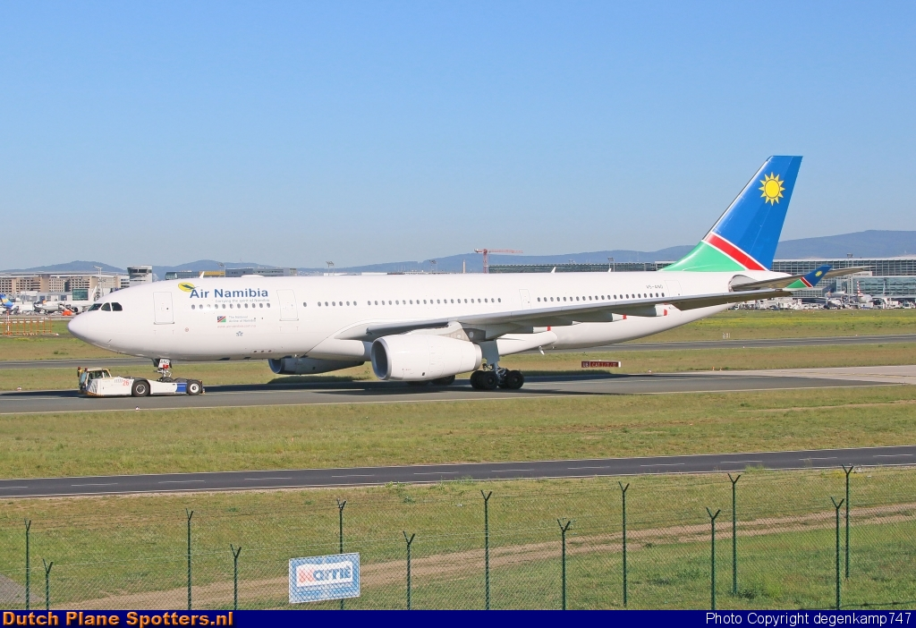 V5-ANO Airbus A330-200 Air Namibia by Herman Degenkamp