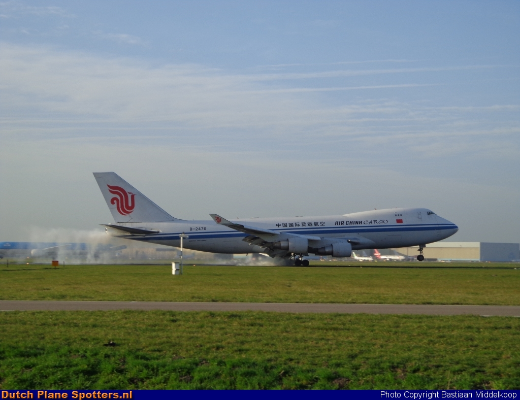 B-2476 Boeing 747-400 Air China Cargo by Bastiaan Middelkoop