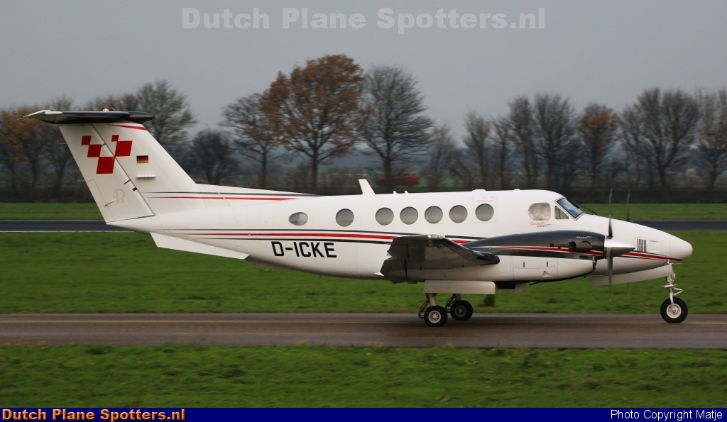 D-ICKE Beechcraft B200 Super King Air Private by Matje