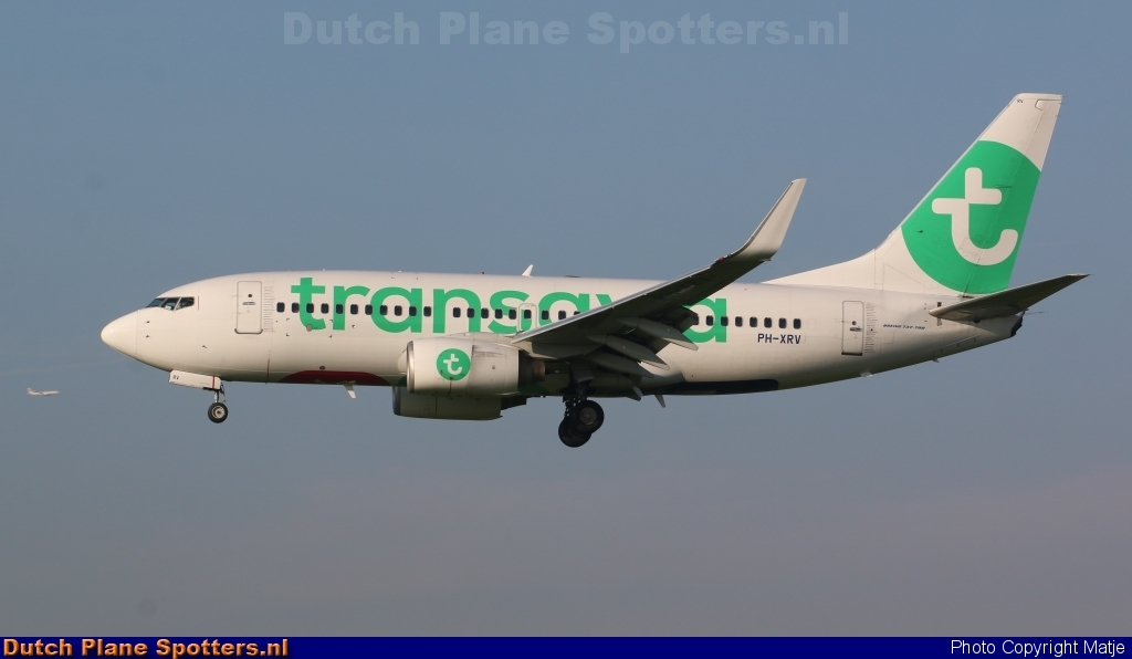 PH-XRV Boeing 737-700 Transavia by Matje