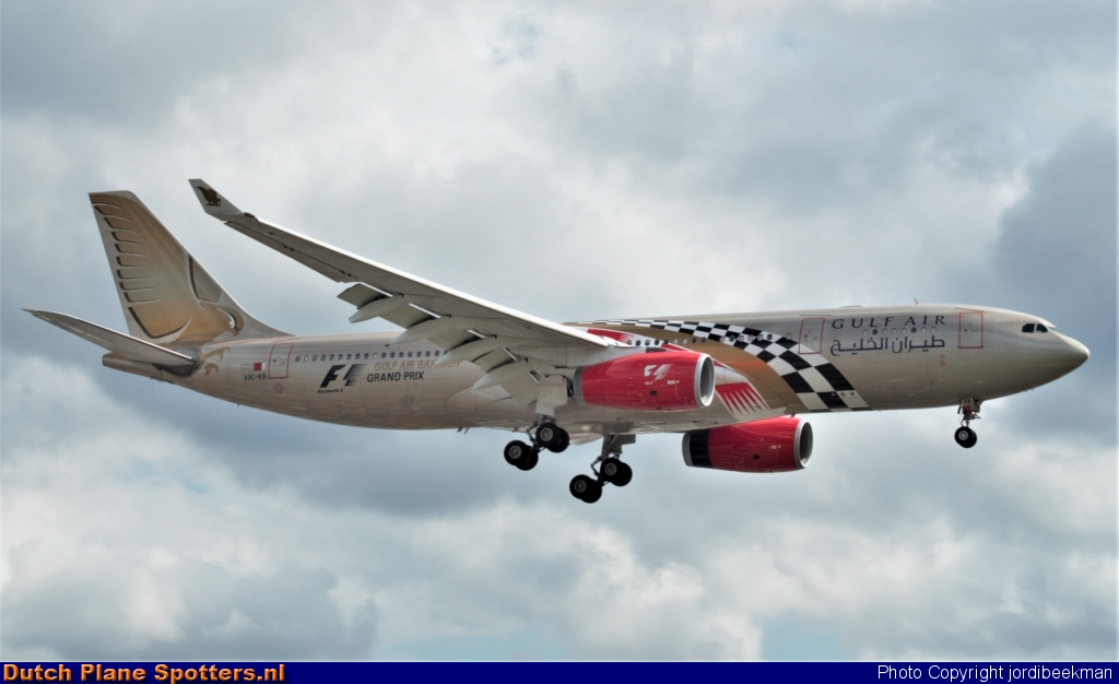 A9C-KB Airbus A330-200 Gulf Air by jordibeekman