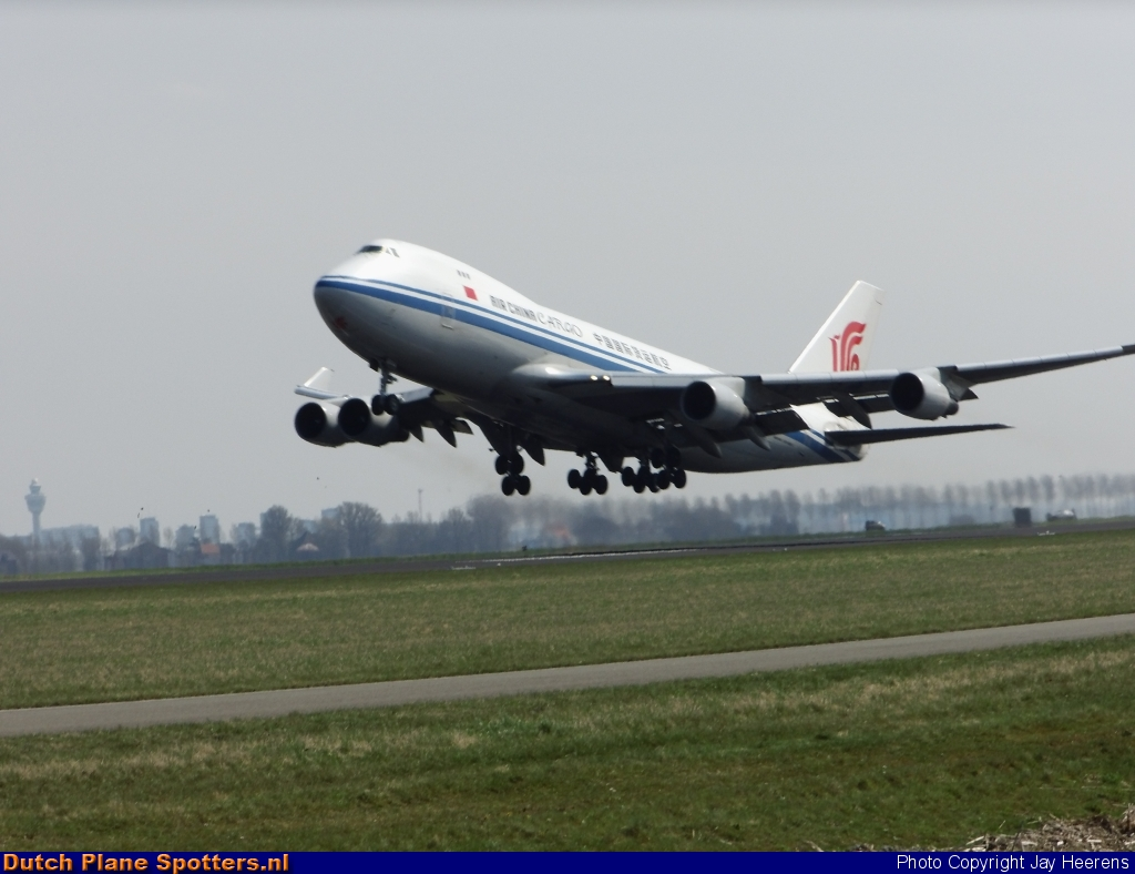 B-2409 Boeing 747-400 Air China Cargo by Jay Heerens