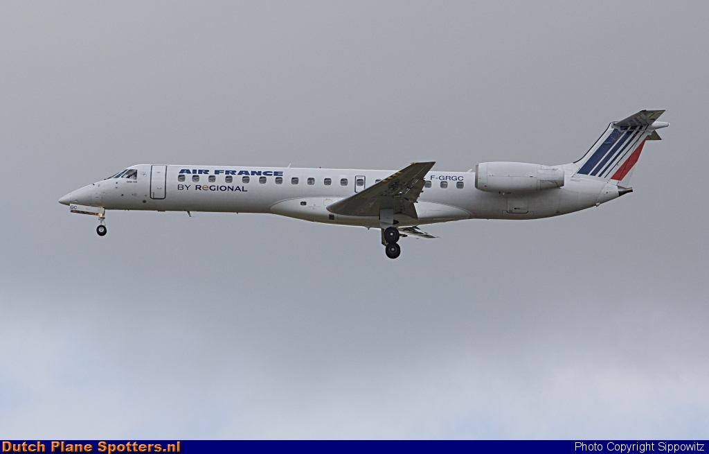F-GRGC Embraer 145 Régional (Air France) by Sippowitz