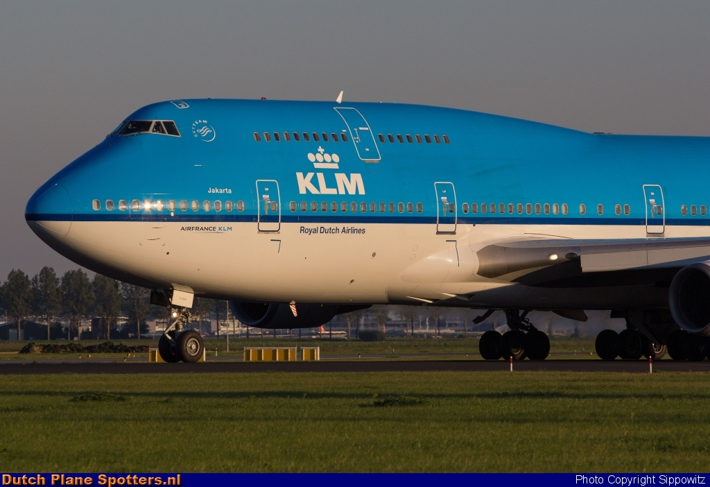 PH-BFI Boeing 747-400 KLM Royal Dutch Airlines by Sippowitz