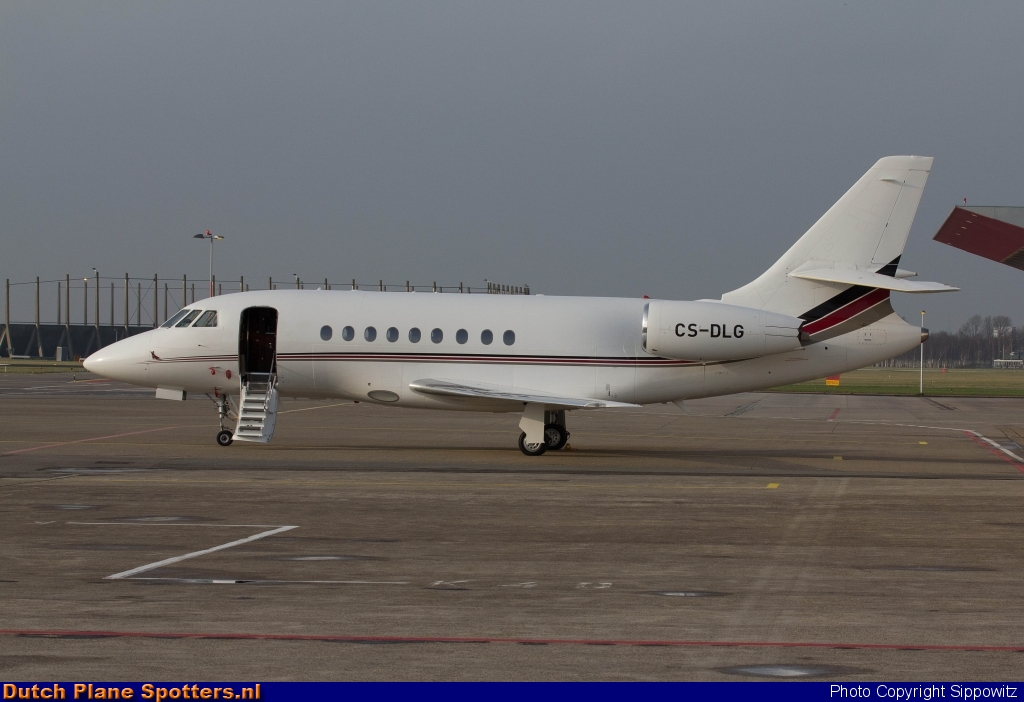CS-DLG Dassault Falcon 2000 NetJets Europe by Sippowitz