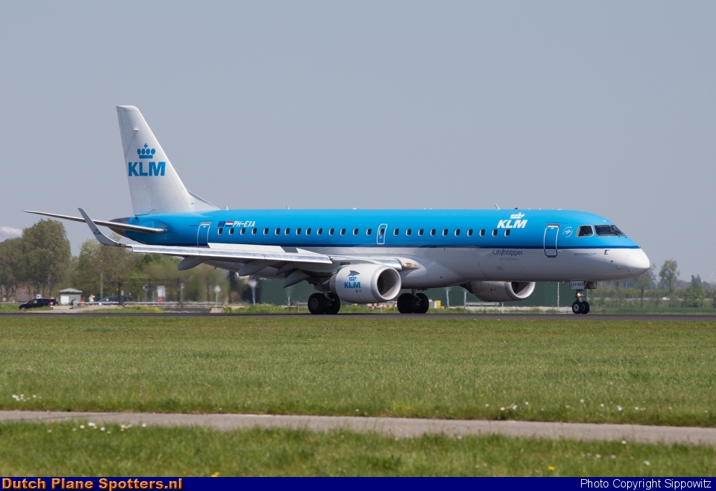 PH-EXA Embraer 190 KLM Cityhopper by Sippowitz