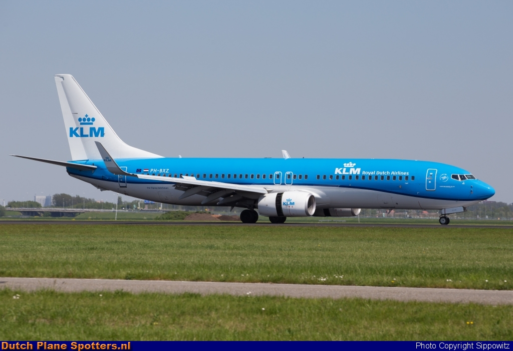 PH-BXZ Boeing 737-800 KLM Royal Dutch Airlines by Sippowitz