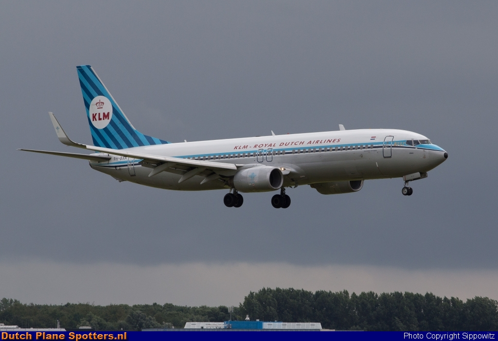 PH-BXA Boeing 737-800 KLM Royal Dutch Airlines by Sippowitz