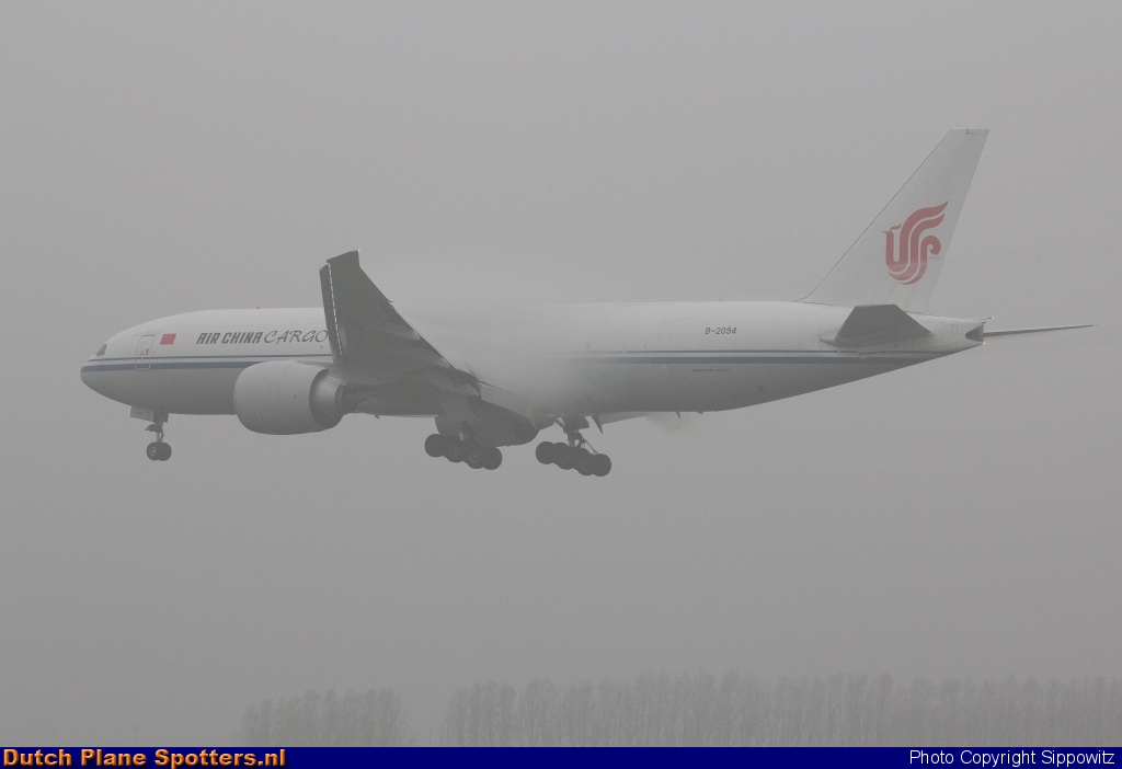 B-2094 Boeing 777-F Air China Cargo by Sippowitz