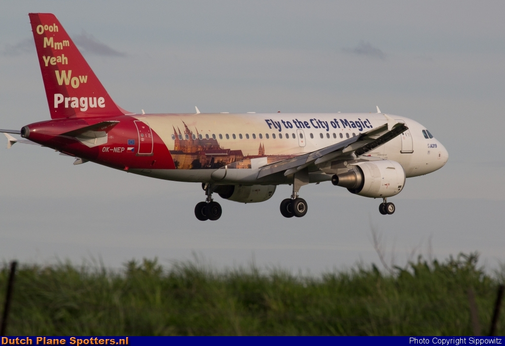 OK-NEP Airbus A319 CSA Czech Airlines by Sippowitz