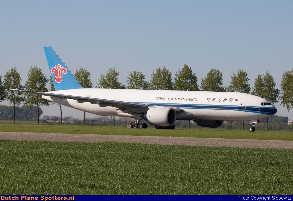 B-2071 Boeing 777-F China Southern Cargo by Sippowitz