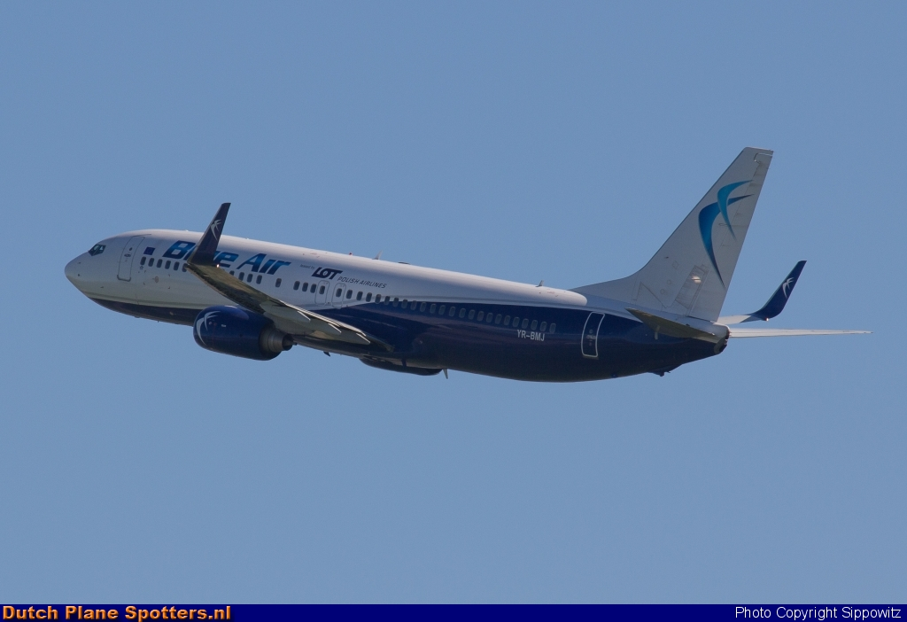 YR-BMJ Boeing 737-800 Blue Air (LOT Polish Airlines) by Sippowitz