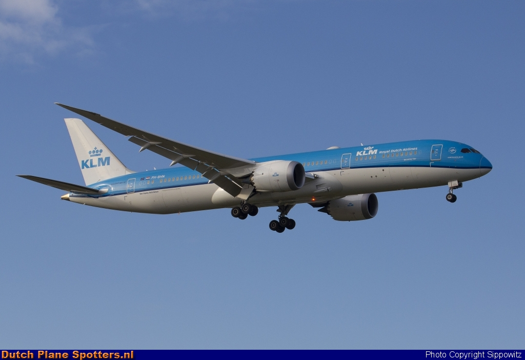 PH-BHN Boeing 787-9 Dreamliner KLM Royal Dutch Airlines by Sippowitz