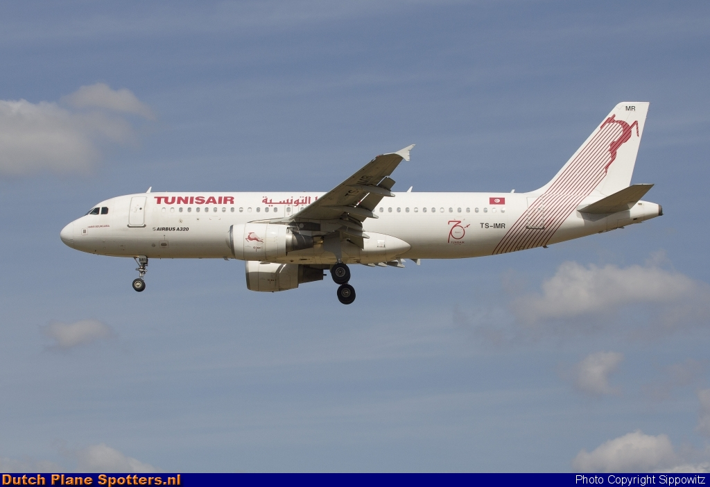 TS-IMR Airbus A320 Tunisair by Sippowitz