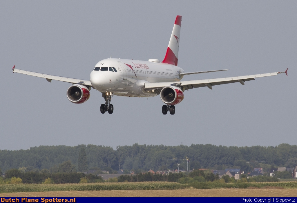 OE-LDC Airbus A319 Austrian Airlines by Sippowitz