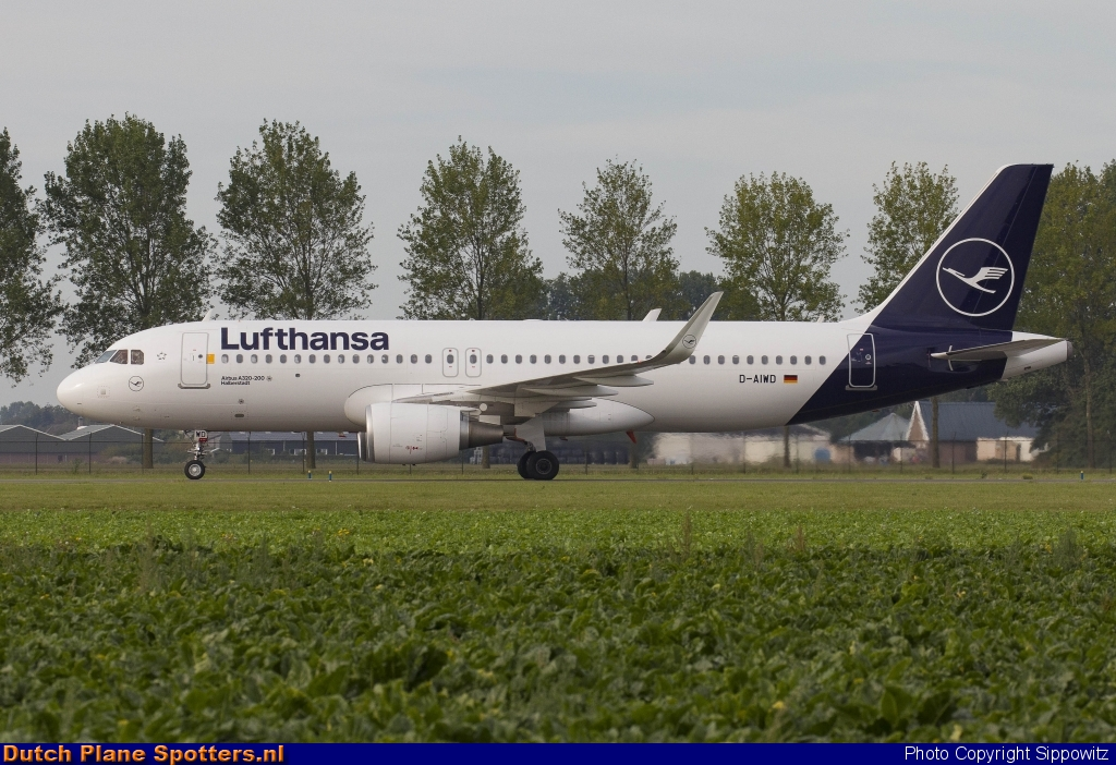 D-AIWD Airbus A320 Lufthansa by Sippowitz