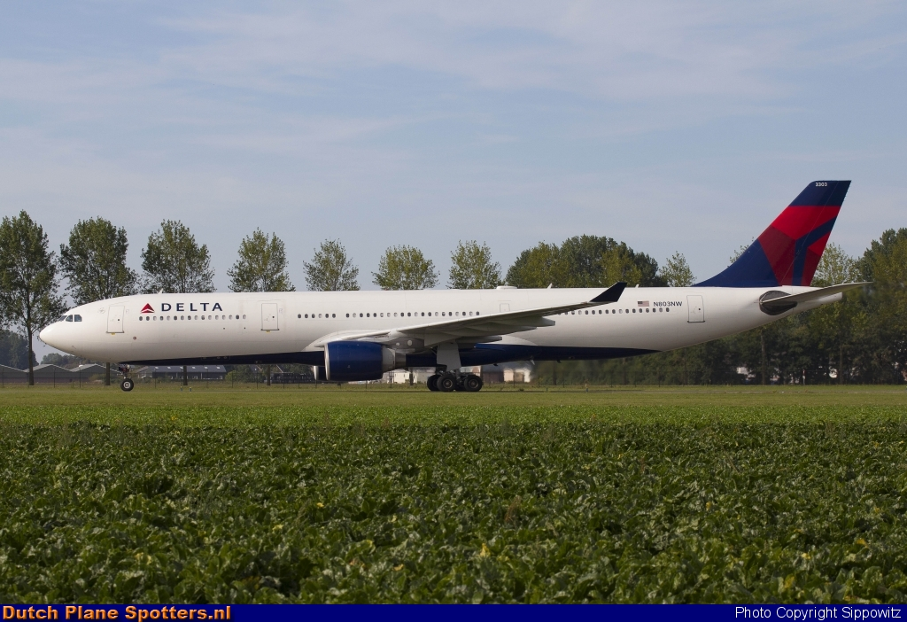 N803NW Airbus A330-300 Delta Airlines by Sippowitz