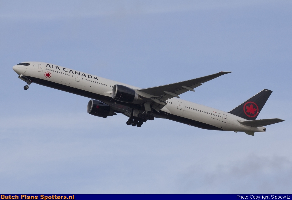 C-FIUV Boeing 777-300 Air Canada by Sippowitz
