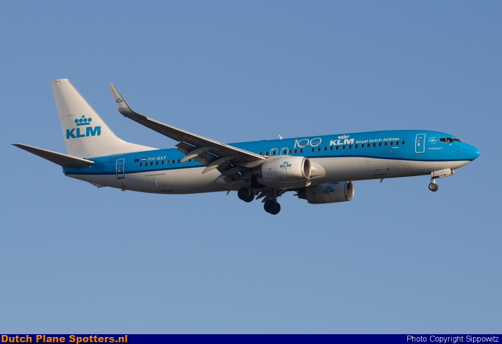 PH-BXF Boeing 737-800 KLM Royal Dutch Airlines by Sippowitz