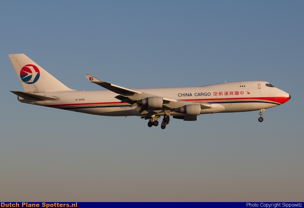 B-2428 Boeing 747-400 China Cargo Airlines by Sippowitz