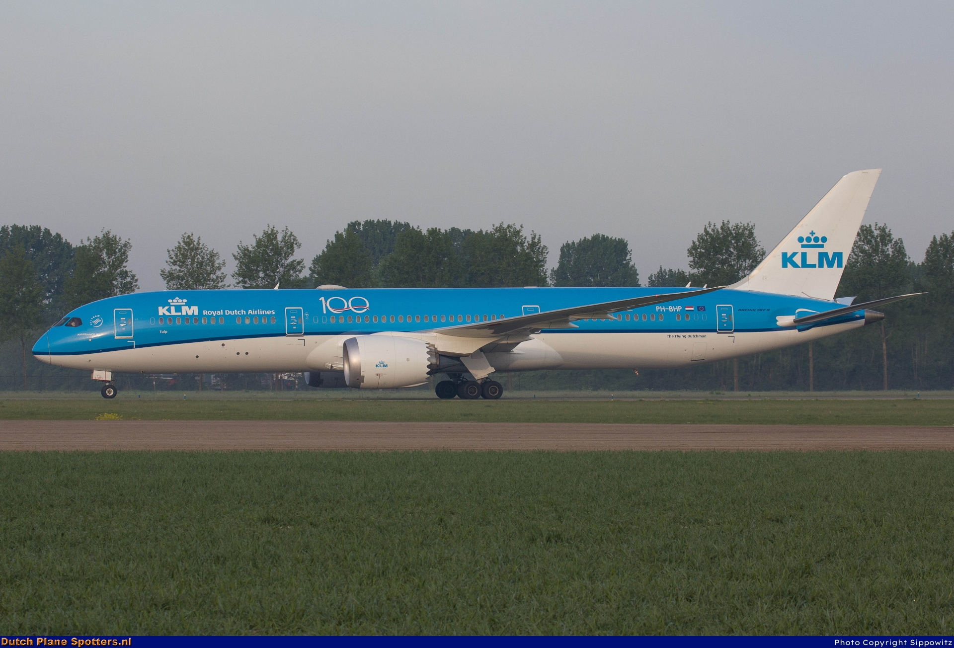 PH-BHP Boeing 787-9 Dreamliner KLM Royal Dutch Airlines by Sippowitz