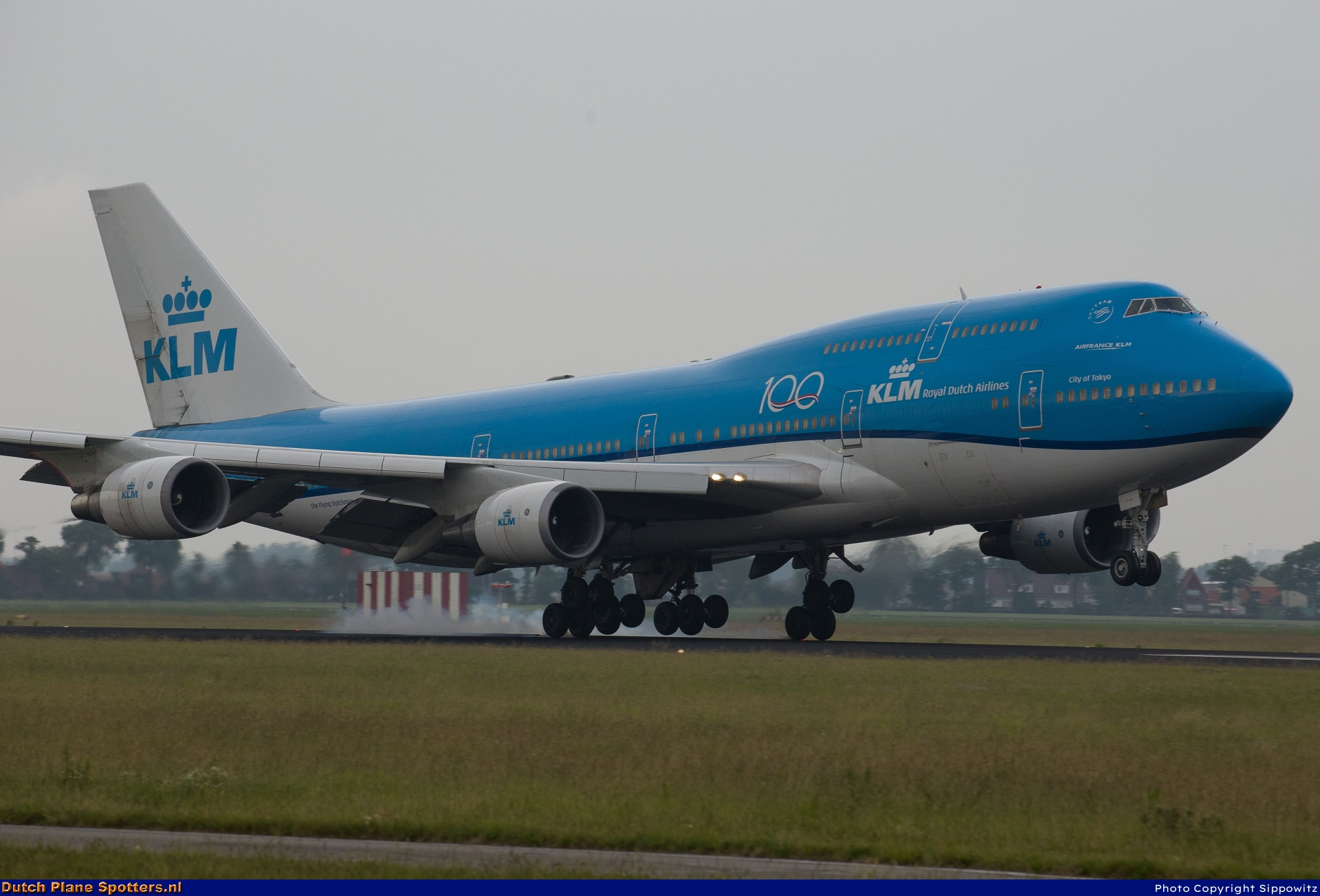 PH-BFT Boeing 747-400 KLM Royal Dutch Airlines by Sippowitz