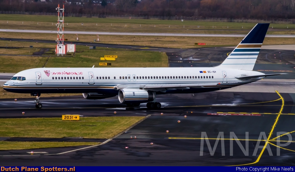 EC-ISY Boeing 757-200 Privilege Style by Mike Neefs