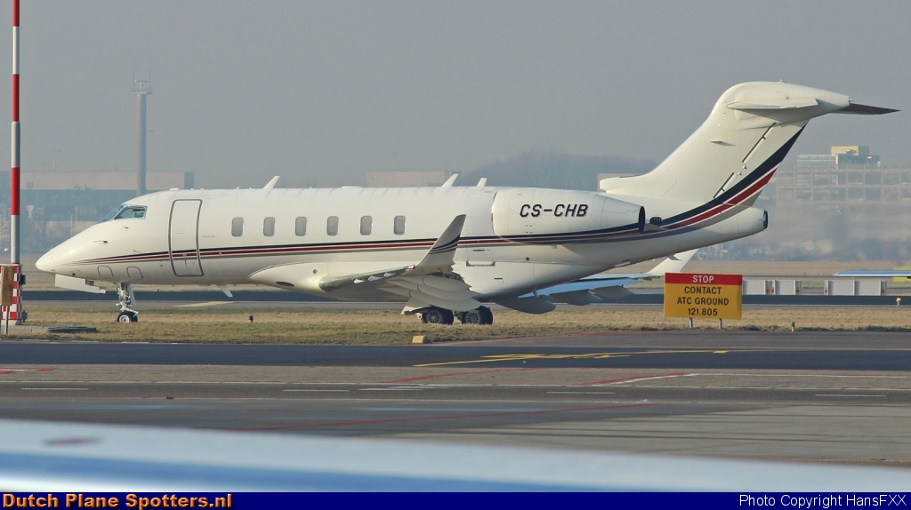 CS-CHB Bombardier Challenger 300 NetJets Europe by HansFXX