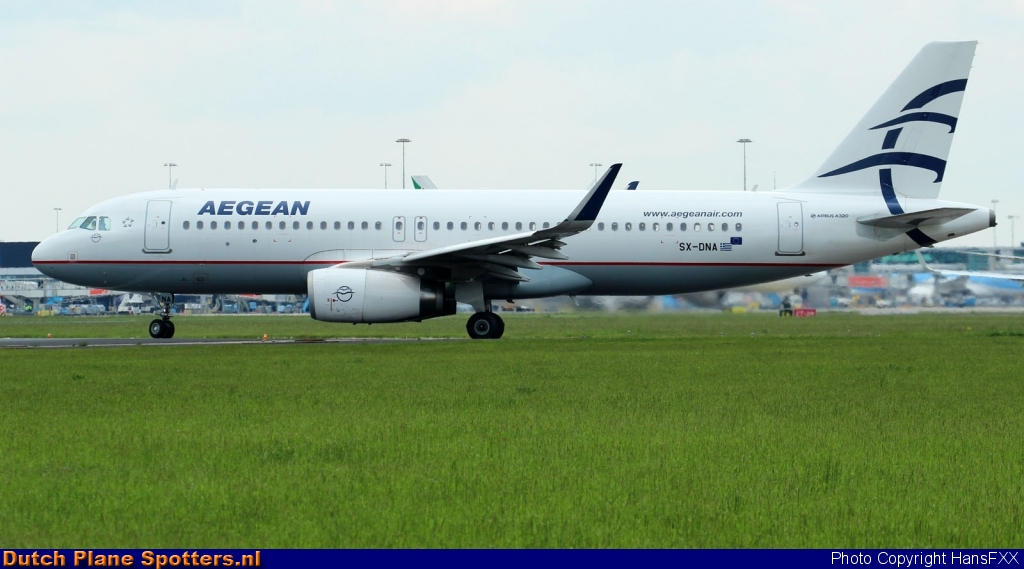 SX-DNA Airbus A320 Aegean Airlines by HansFXX
