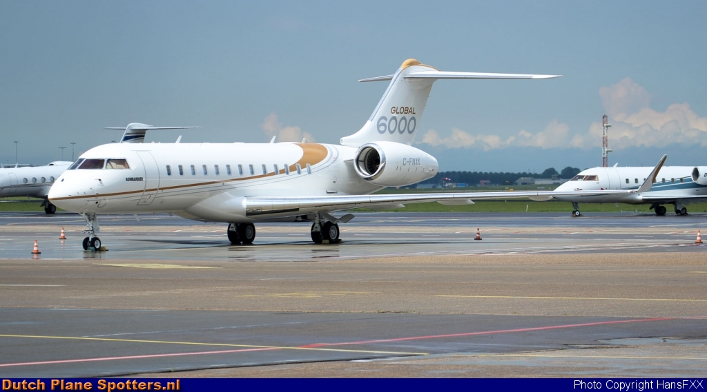 C-FNXK Bombardier BD-700 Global 6000 Bombardier Aerospace by HansFXX
