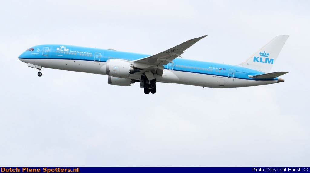 PH-BHD Boeing 787-9 Dreamliner KLM Royal Dutch Airlines by HansFXX