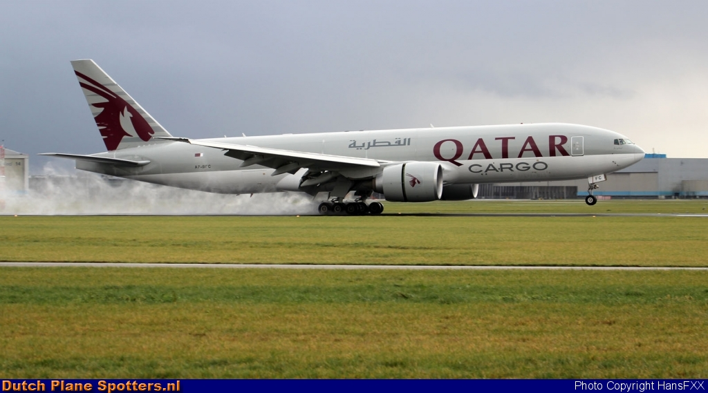 A7-BFC Boeing 777-F Qatar Airways Cargo by HansFXX