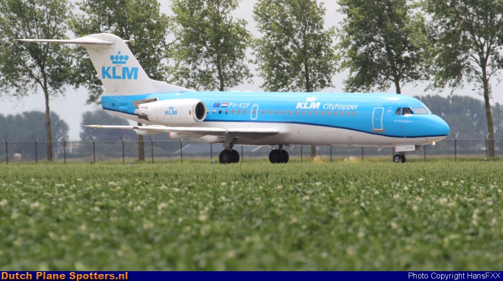 PH-KZP Fokker 70 KLM Cityhopper by HansFXX