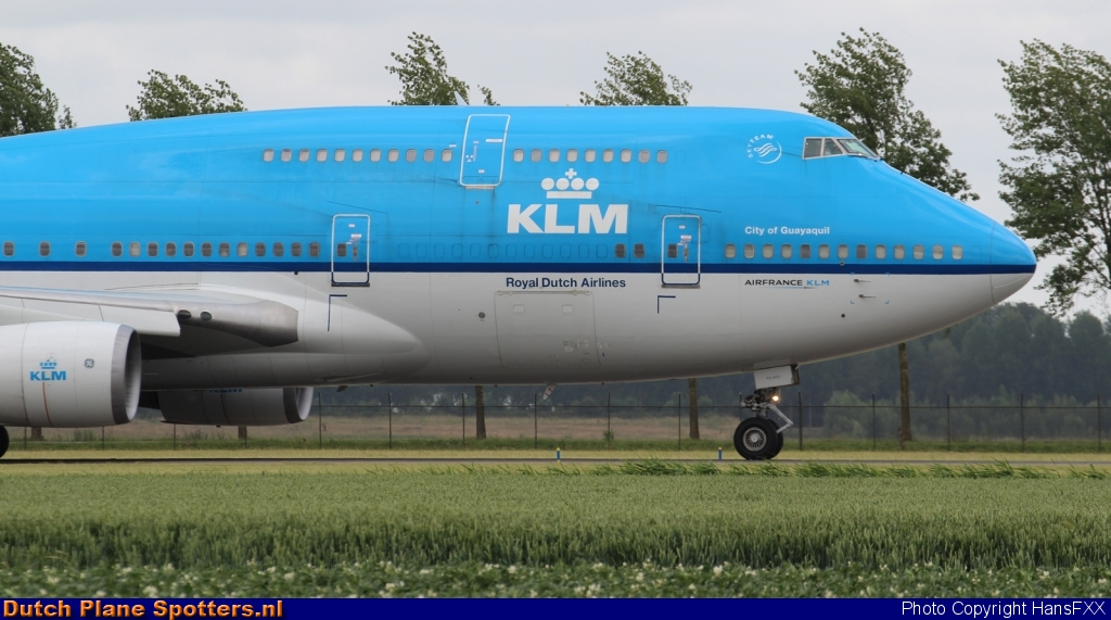 PH-BFG Boeing 747-400 KLM Royal Dutch Airlines by HansFXX