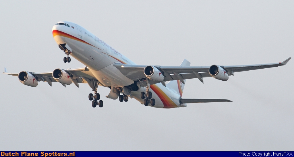 PZ-TCR Airbus A340-300 Surinam Airways by HansFXX