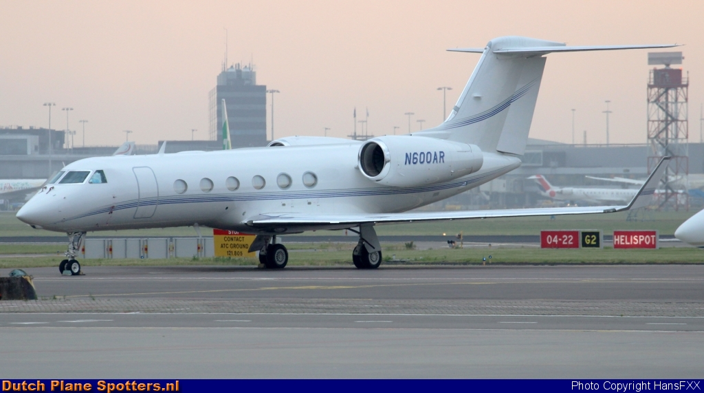 N600AR Gulfstream G-IV Private by HansFXX